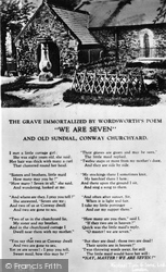 Conwy, 'we Are Seven' c.1930