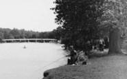 Cookham, A Fisherman c.1950