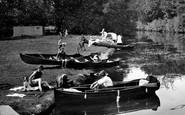 Cookham, Boating 1925