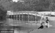 Cookham, Boys Fishing 1899
