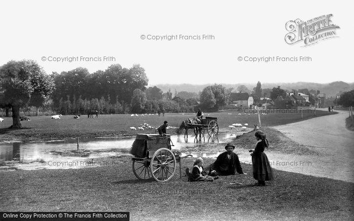 Photo of Cookham, Cookham Moor, Wayfarers 1890