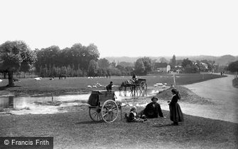 Cookham, Cookham Moor, Wayfarers 1890
