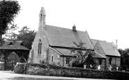 Cookham Dean, The Church 1950