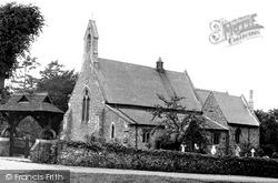 Cookham Dean, St John The Baptist Church 1950