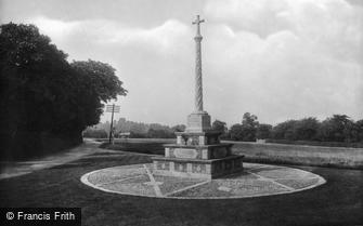 Cookham Dean, the War Memorial 1925