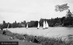 Cookham, Fishing And Sailing c.1950