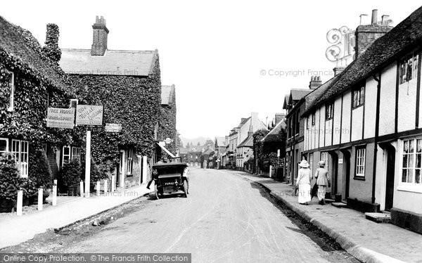 Cookham, High Street 1908