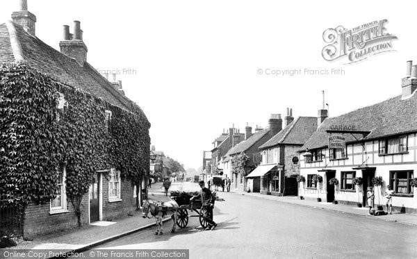 Cookham, High Street 1925