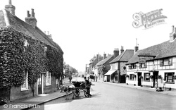 Cookham, High Street 1925