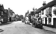 Cookham, High Street 1957