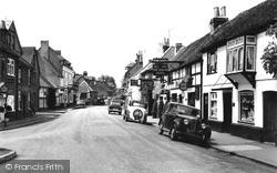 Cookham, High Street 1957