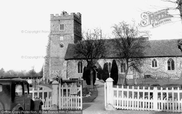 Photo of Cookham, Holy Trinity Church c.1955