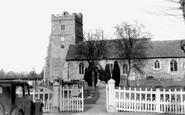 Cookham, the Church c1955