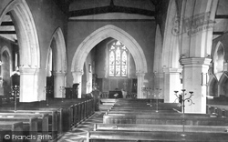 Cookham, Holy Trinity Church Interior 1890