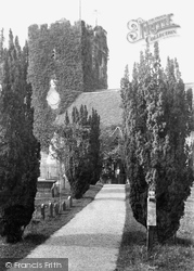 Cookham, Holy Trinity Church Tower 1901