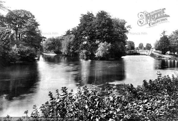 Photo of Cookham, Lock And Odney Approach 1899