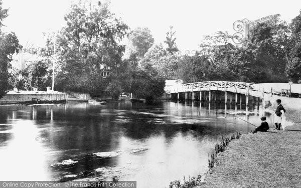 Cookham,Mill Stream 1899,Berkshire