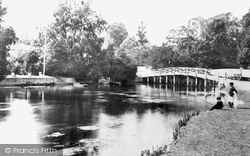 Cookham, Mill Stream 1899