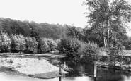 Cookham, Odney Backwater 1899