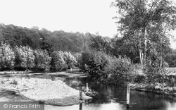 Cookham, Odney Backwater 1899