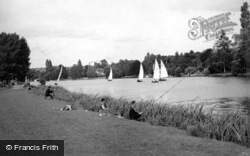 River Scene c.1950, Cookham