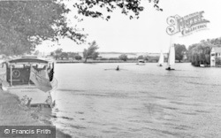 Cookham, River Thames c.1950