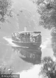 Cookham, The River Boat 'streatley' 1925