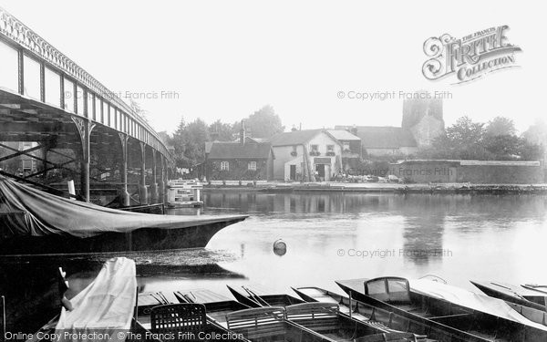 Photo of Cookham, The River Thames 1901