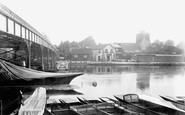 Cookham, The River Thames 1901