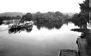 Cookham, The River Thames From The Bridge 1925