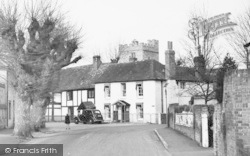 Cookham, Village Houses And Church Tower c.1955