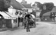 Cookham, Waggon, Bel And Dragon Hotel 1899