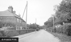 Barns Green Road c.1955, Coolham