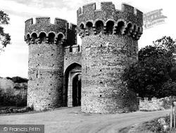 Cooling, Castle, The Gateway c.1960