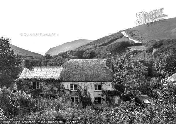 Bude,Coombe Valley mill 1929,Cornwall