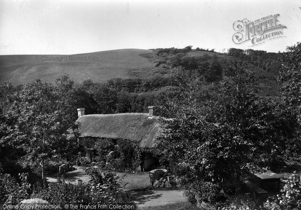 Bude,Coombe Valley mill tea rooms 1929,Cornwall