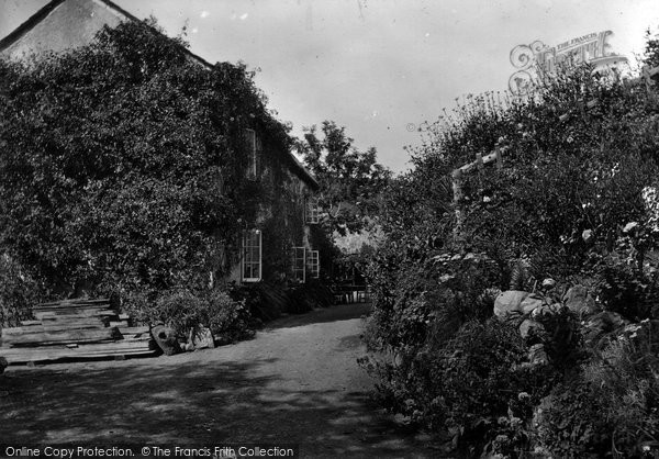 Bude,Coombe Valley mill house 1929,Cornwall