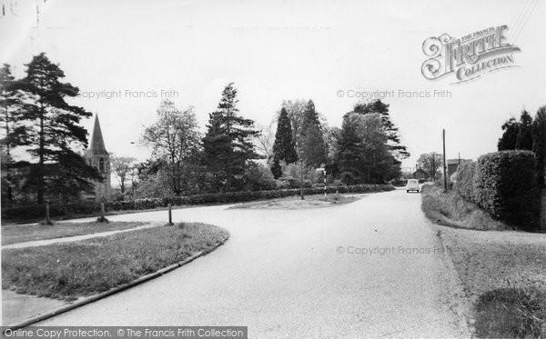 Photo of Copthorne Bank, Church c.1960