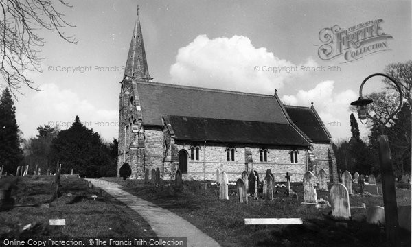Photo of Copthorne Bank, Church c.1960