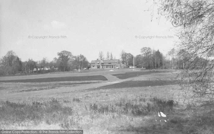 Photo of Copthorne Bank, Golf Club c.1960