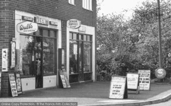 Photo of Copthorne Bank, 'h D Hewitt' Newsagent's c.1960