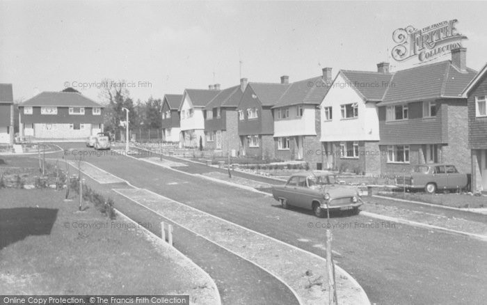 Photo of Copthorne Bank, Meadow Close c.1960