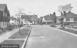 Copthorne Bank, The Meadow c.1960
