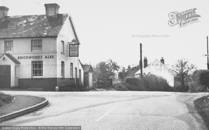 Photo of Copthorne Bank, The Prince Albert c.1960