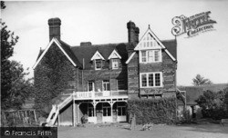 Copthorne, Shoreditch Holiday Rest Home c.1955