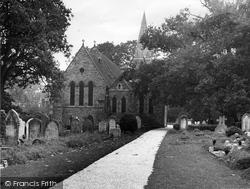 Copthorne, St John's Church c.1955