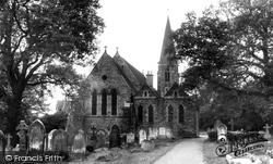 Copthorne, St John's Church c.1960
