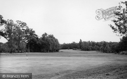 Copthorne, The Golf Course c.1955