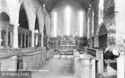 Corbridge, Church Interior c.1960