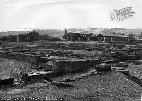 Photo of Corbridge, Corstopitum Camp c1955, ref. C459028